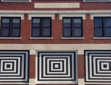 Geometrically-Inspired Mural #1
