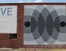 Geometrically-Inspired Mural #3