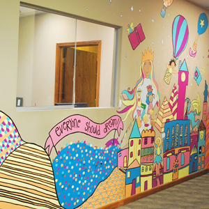 Mural at Missouri Baptist Children's Home