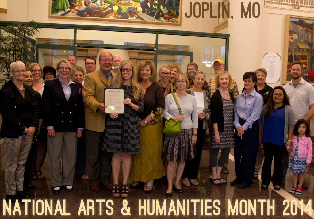 National Arts and Humanities Month 2014 in Joplin, MO