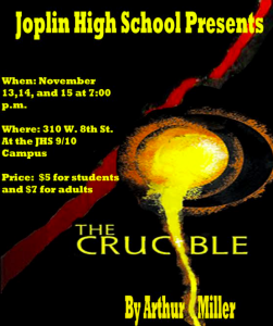 Joplin High School The Crucible