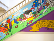 Art Feeds School Murals