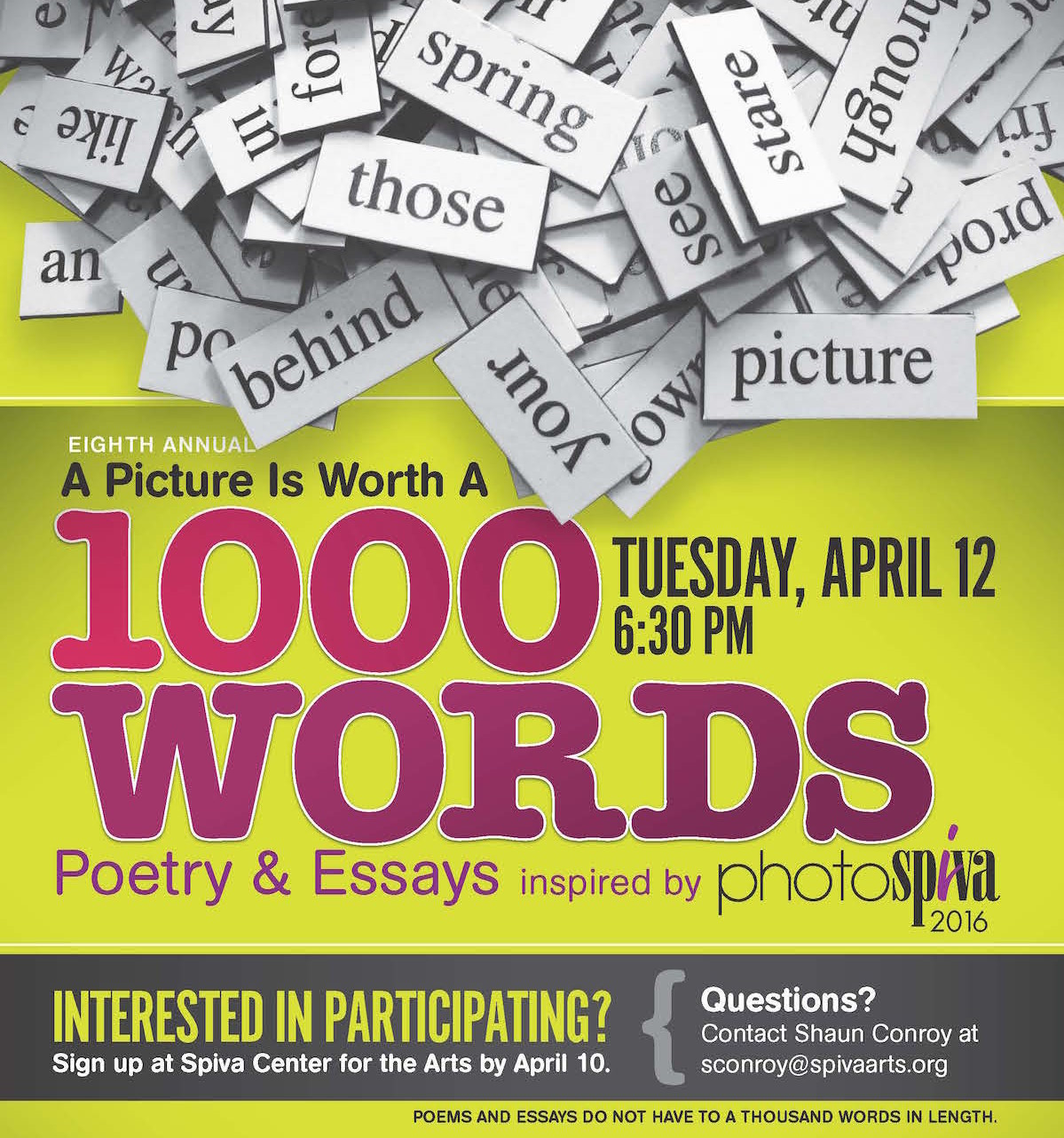1k words flier