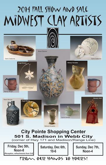 Midwest Clay Artists Fall Show & Sale 2014