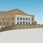 Potential community cultural arts center at Memorial Hall site